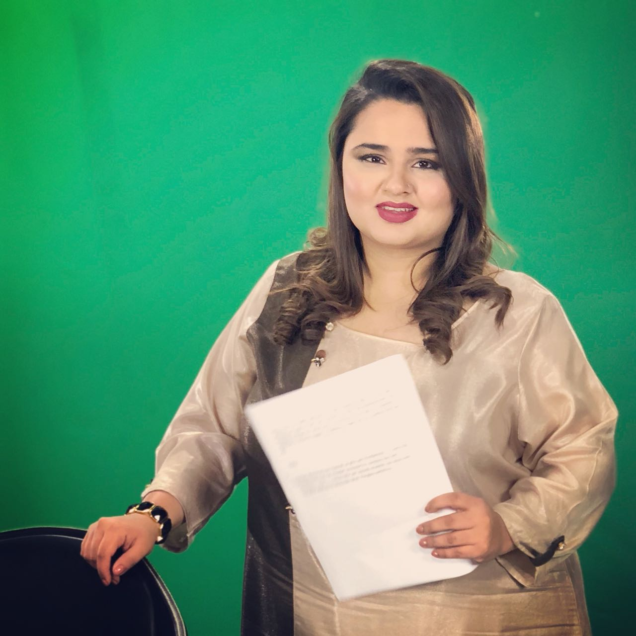 Faiza Saleem A Mirthful Humorist To Have Her Own TV Show On HUM News