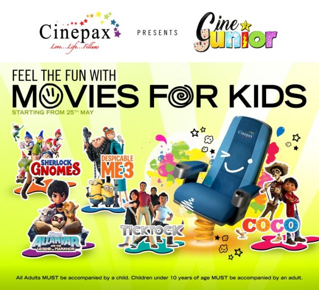 Cinepax announces Cine Junior