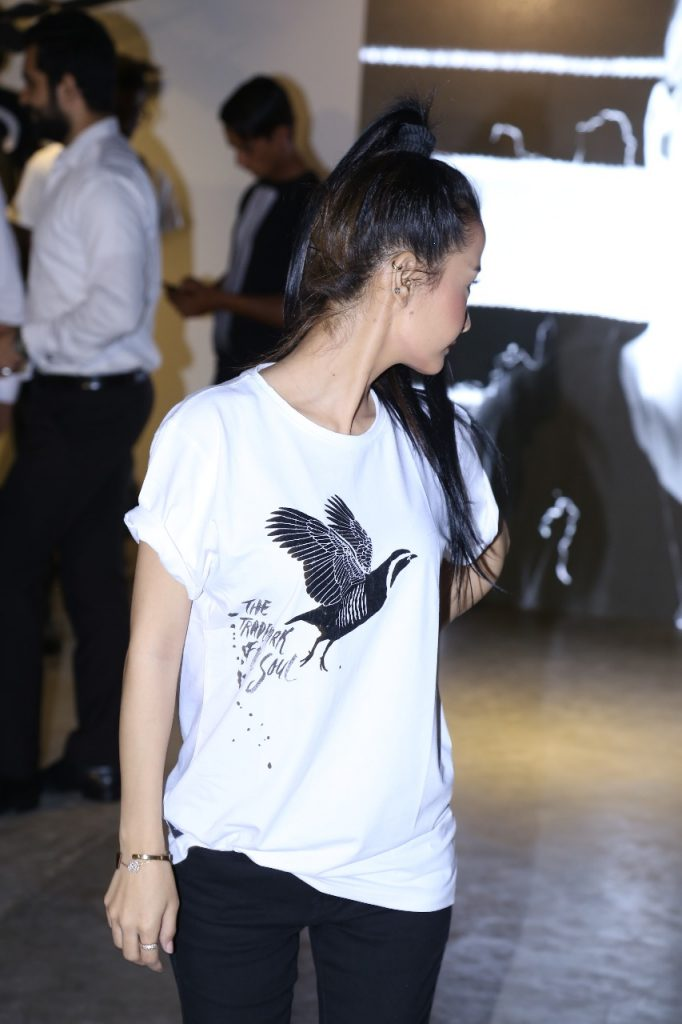 "Teespirit launched their newest clothing and presented a ""Walking Canvas"" 3"