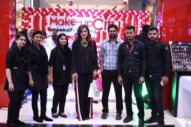 Grand Opening Of Make-Up City At Packages Mall