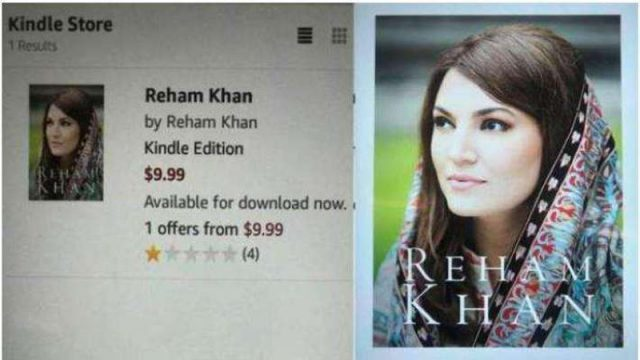 Reham khan Biopraphy Book