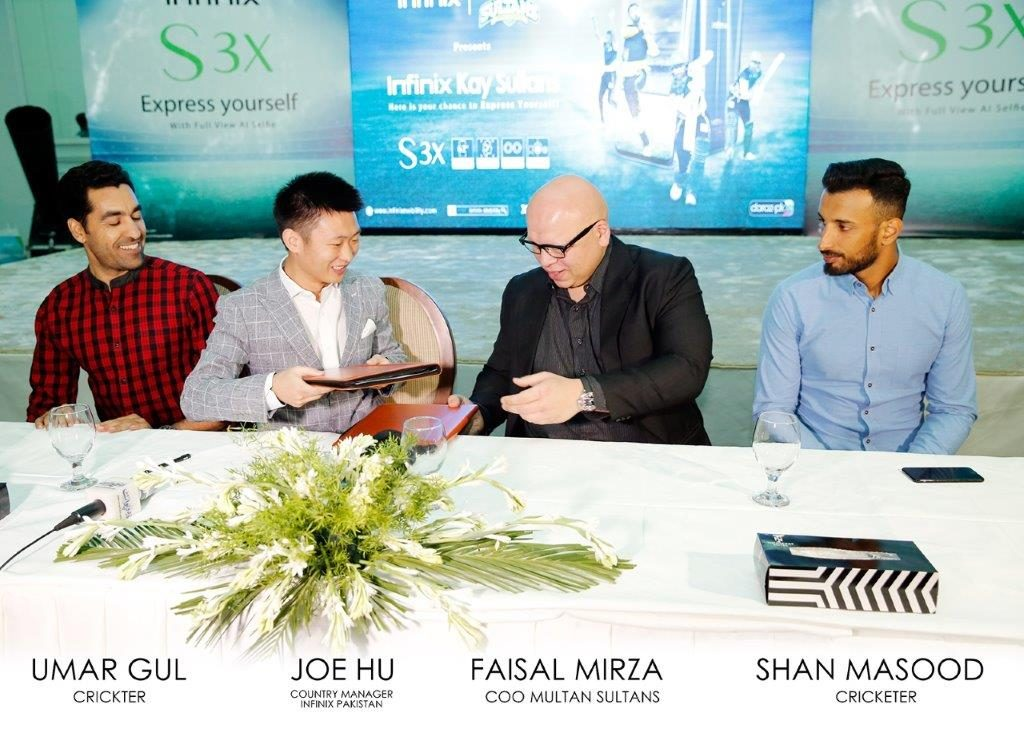Infinix Unveils its first AI Integrated, Notch Screen S3x and Multan Sultans Campaign 1