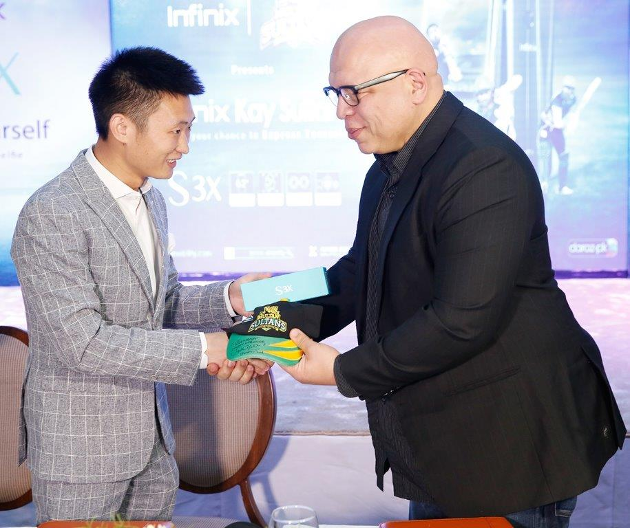 Infinix Unveils its first AI Integrated, Notch Screen S3x and Multan Sultans Campaign 3