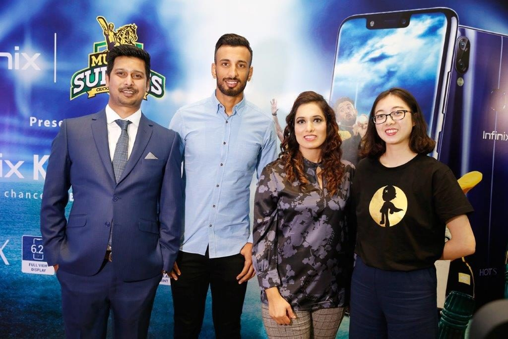 Infinix Unveils its first AI Integrated, Notch Screen S3x and Multan Sultans Campaign 5