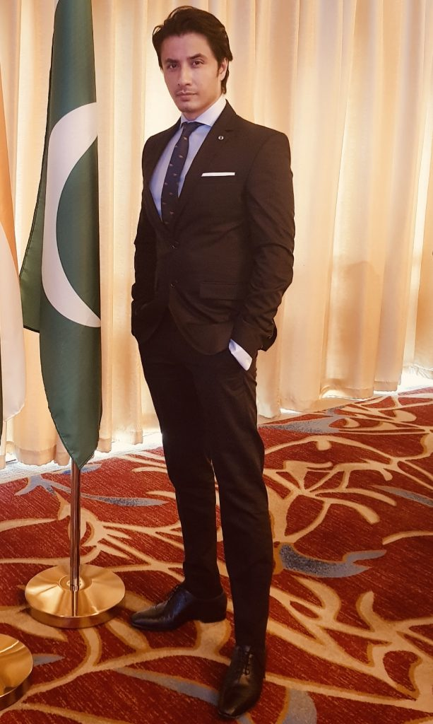 Ali Zafar representing Pakistani Cinema in China [F]