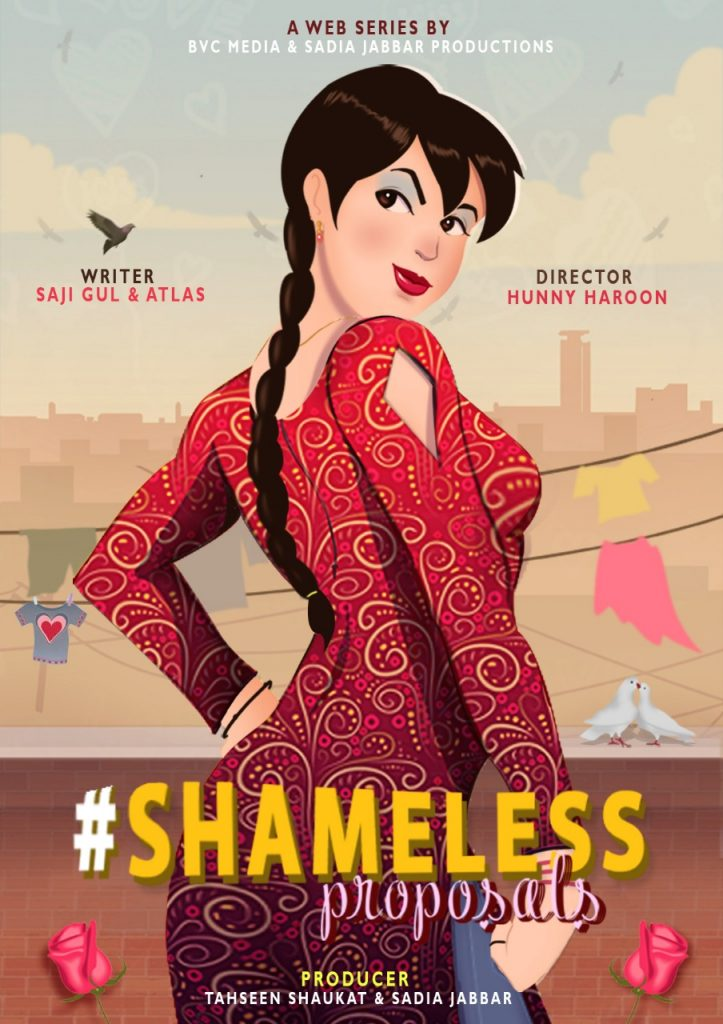 "Sadia Jabbar Productions and BVC Media Ventures in Web Entertainment with ""Shameless Proposals"" 2"