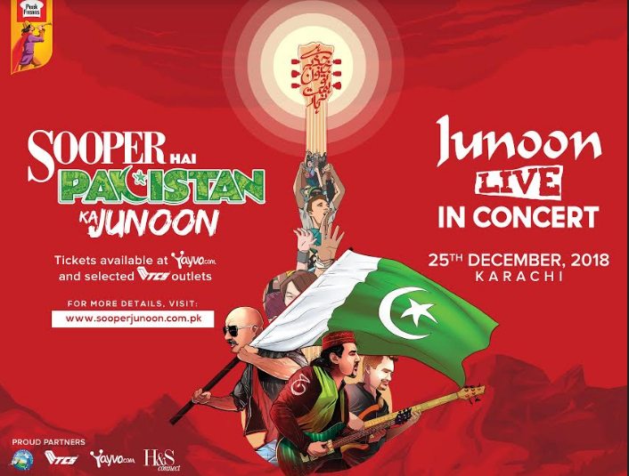 The Sooper Junoon Concert Makes History as The Most Iconic Live Act Ever Seen in Pakistan 1