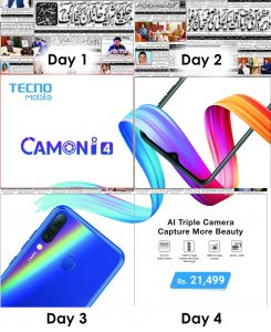 Tecno Camon i4 – Campaign that Rocked the Minds! 1