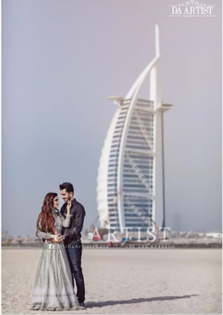 Hasan Ali Samiya Arzoo Wedding Shoot burj arab dubai