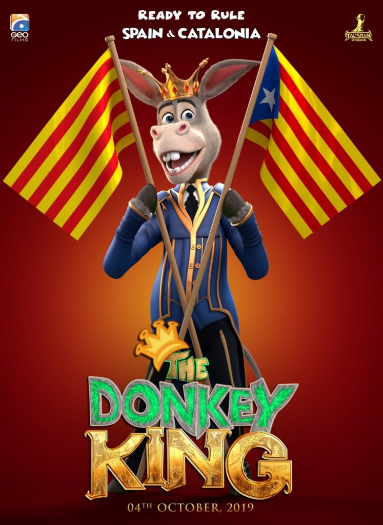 The Donkey King is conquering new territories