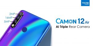 TECNO Launches CAMON 12 Air Exclusively On Daraz 2