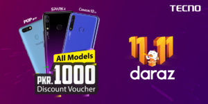 """TECNO COLLABORATION WITH """"DARAZ GYARA GYARA"""" IS OFFERING EXCITING OFFERS 2"""