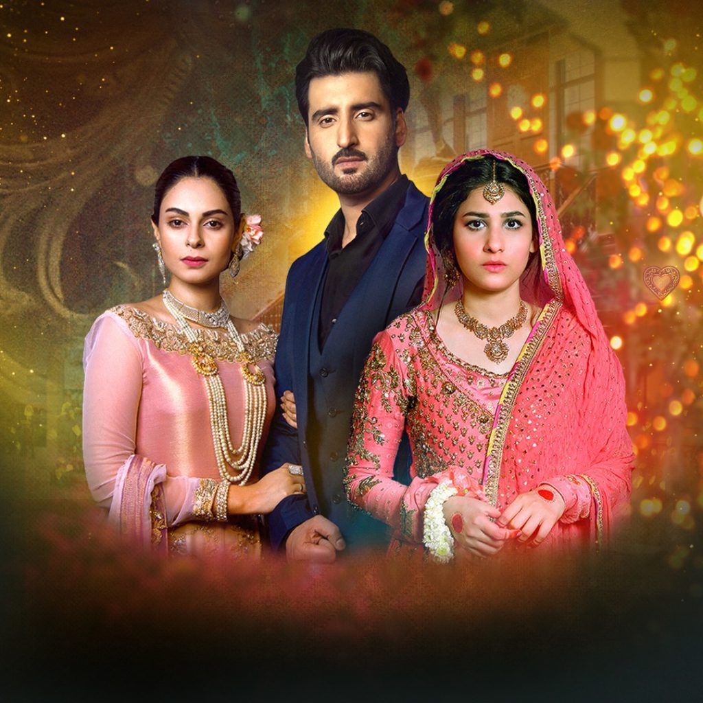 Agha Ali, Amar Khan and Hina Altaf
