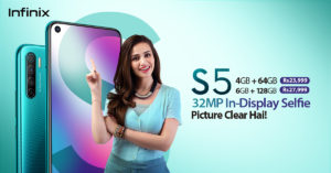 Pakistan's first 32MP In-display Selfie Camera Smartphone, Infinix S5 is Now Available 1