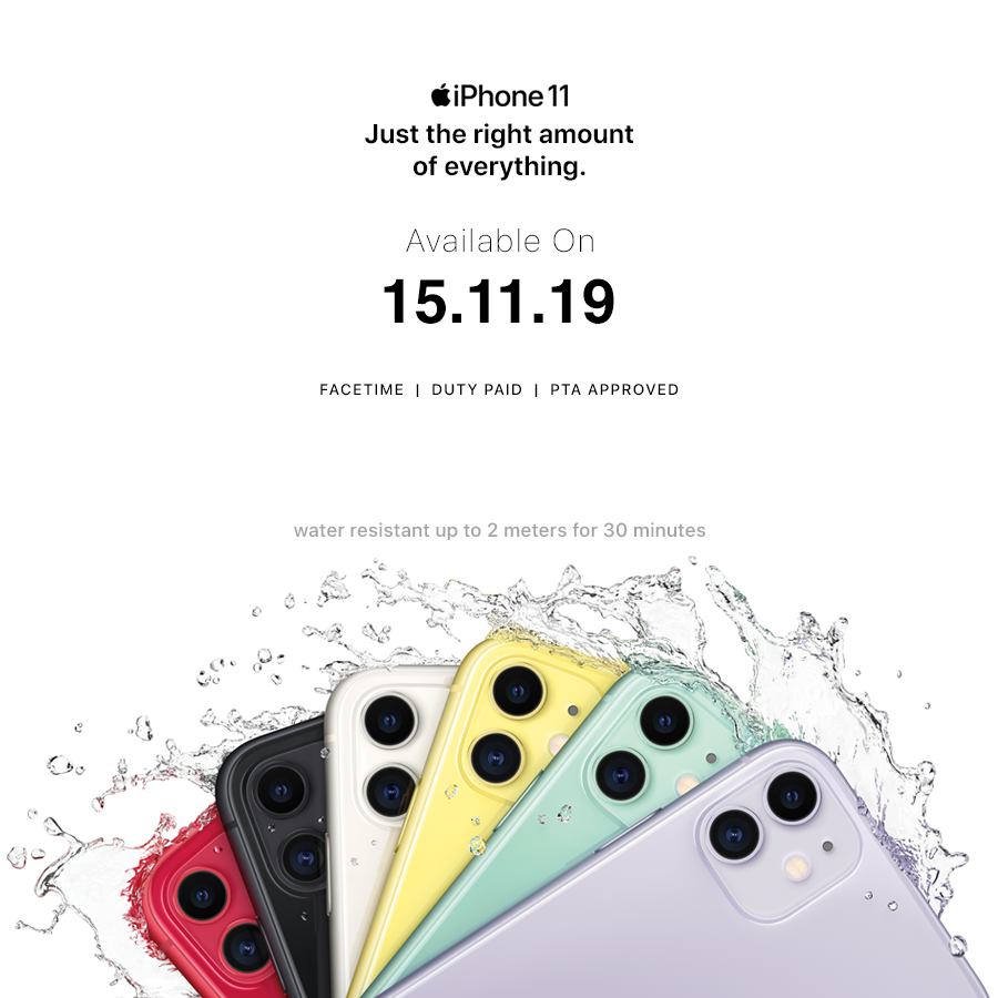 Iphone 11 and Iphone 11 Pro Price in Pakistan
