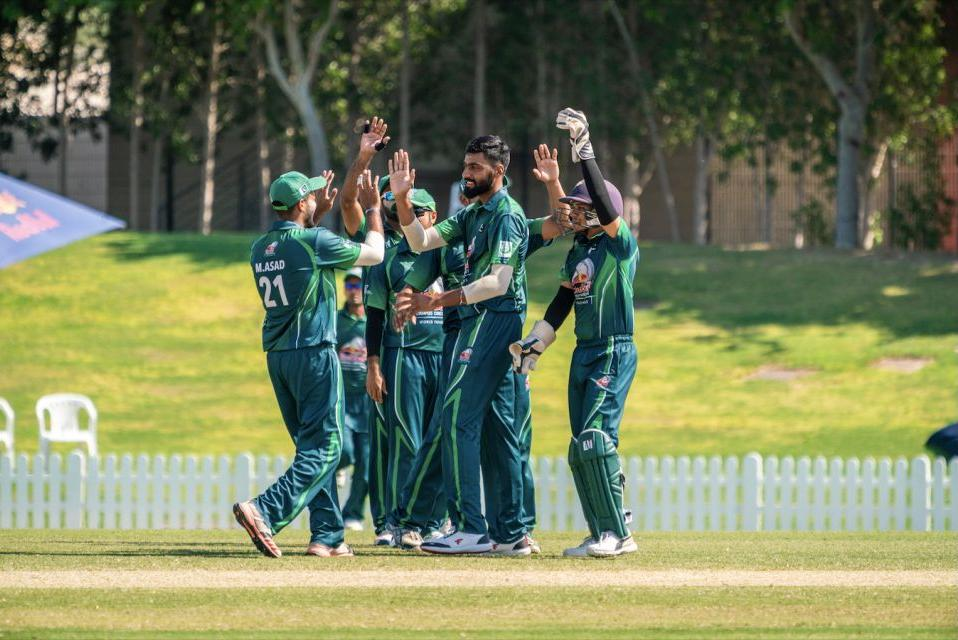 PAKISTAN ADVANCES TO THE CHAMPIONSHIP MATCH OF RED BULL CAMPUS CRICKET WITHA 9 RUN DEFEAT OF INTERNATIONAL COLLEGE OF BUSINESS & TECHNOLOGY FROM SRI LANKA 1