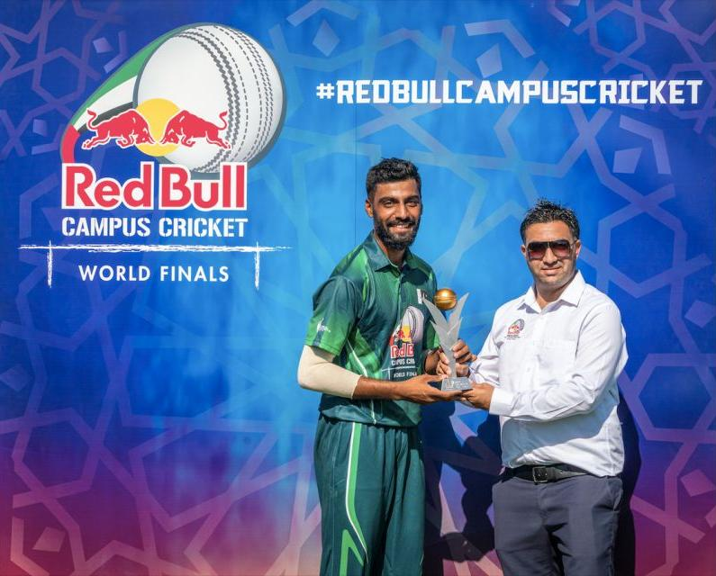 PAKISTAN ADVANCES TO THE CHAMPIONSHIP MATCH OF RED BULL CAMPUS CRICKET WITHA 9 RUN DEFEAT OF INTERNATIONAL COLLEGE OF BUSINESS & TECHNOLOGY FROM SRI LANKA 2